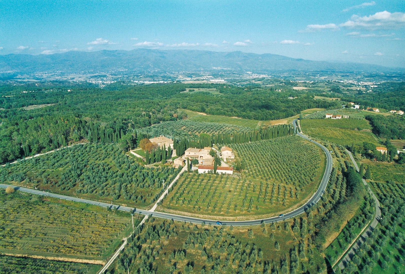 Il territorio di Tenuta San Jacopo